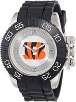 Game Time Men's NHL-BEA-CHI Beast Round Analog Watch