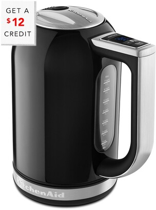 KitchenAid 1.7L Electric Kettle With Led Display - Kek1722ob With $8 Credit