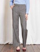 Boden British Tweed Wide Leg Trouser