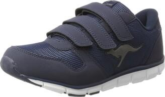 KangaROOS K-bluerun 701 B Unisex Adults' Low-Top Sneakers Blue - Blau (dk navy/mid grey 423) 7.5 UK (41 EU)