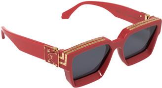 Louis Vuitton Red Z1165W 1.1 Millionaires Square Sunglasses