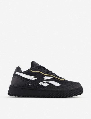 Reebok x Victoria Beckham Dual Court II faux-leather trainers