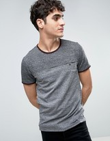 Ted Baker Marl T-Shirt in Cut & Sew