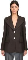 Prada Mohair Blend Knit Jacket