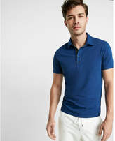 Express moisture-wicking stretch polo