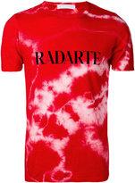 Rodarte Crystal tie dye T-shirt - unisex - Polyester/Cotton/Rayon - L