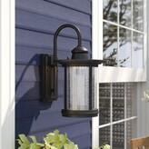 "Birch Lane Birch LaneTM Heritage Cole Outdoor Wall Lantern Heritage Size: 13"" H x 7.5"" W x 9.3"" D"