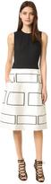 Narciso Rodriguez Sleeveless Graphic Dress