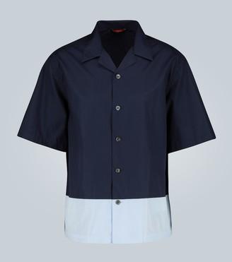 Barena Cotton short-sleeve shirt