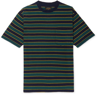 Beams Striped Cotton-Jersey T-Shirt
