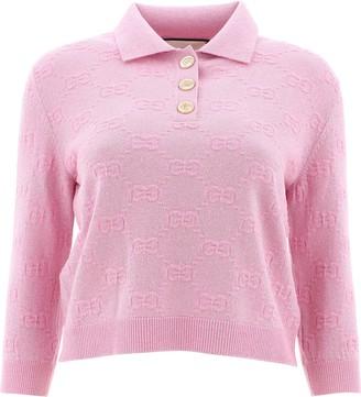Gucci GG Jacquard Polo Shirt