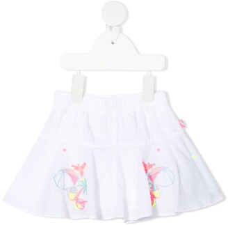Billieblush Embroidered Motif Tutu Skirt