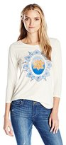 Lucky Brand Women's Multicolor Lotus T-Shirt