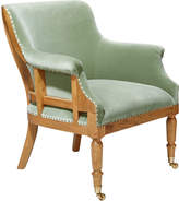 OKA Trematon Velvet Armchair