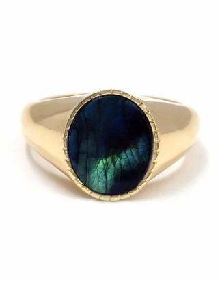 BONDEYE JEWELRY Markle Labradorite Ring