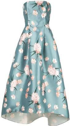 Sachin + Babi floral strapless dress