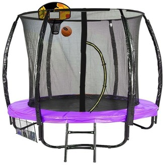Kahuna Classic 6ft Trampoline with Basketball Set -