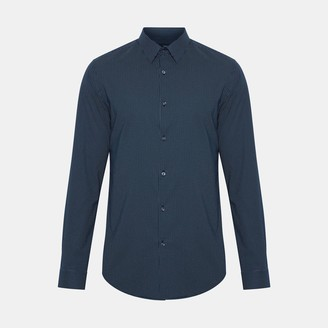 Theory Charlton Print Murrary Shirt
