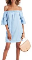 Madewell Women's Azalea Off The Shoulder Shift Dress