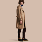 Burberry Raglan-sleeved Cotton Trench Coat