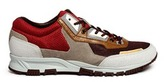 Lanvin Mixed media running sneakers
