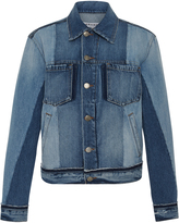 Frame Nouveau Mixed Denim Jacket