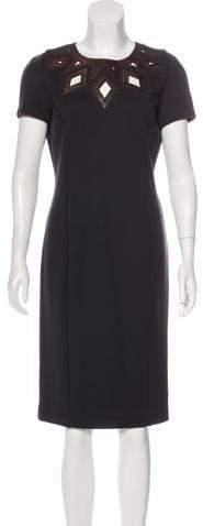 Andrew Gn Wool Midi Dress w/ Tags