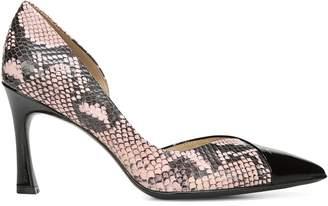 Naturalizer Audra Snakeskin-Print Leather Stiletto Pumps