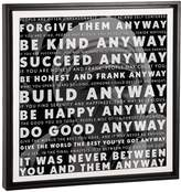 iCanvas Mother Teresa Quote (Framed Canvas)