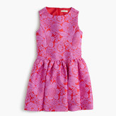 J.Crew Girls' full-skirt dress in floral lace print