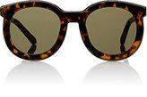 Karen Walker Women's Super Spaceship Sunglasses-BROWN, NO COLOR