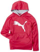 Puma Girls 7-16) Pullover Logo Hoodie