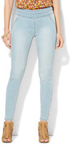 New York & Co. Soho Jeans - SuperStretch High-Waist Pull-On Legging - Blue Fling Wash