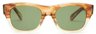 Oliver Peoples Keenan Square Tortoiseshell-acetate Sunglasses - Brown