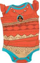 Disney Moana Newborn Infant Baby Girls' Costume Bodysuit, (0-3M)