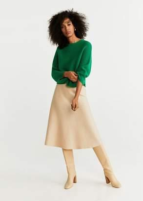 MANGO Dolman-sleeve sweater ecru - XXS-XS - Women