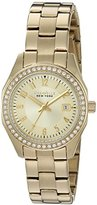 Bulova Women's Quartz and Stainless-Steel Casual Watch, Color:Gold-Toned (Model: 44M108)