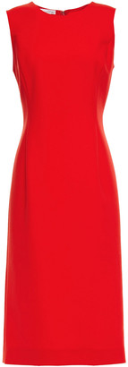 Oscar de la Renta Wool-blend Cady Dress