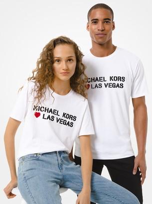 MICHAEL Michael Kors Los Angeles Cotton Jersey Unisex T-Shirt