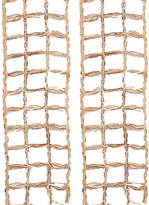 Kurt Adler Window Rope Ribbon Set Of 2