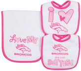 Gerber Baby Denver Broncos 3-Piece Bib & Burpcloth Set