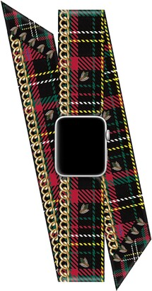 Wristpop Tartan Tai 38mm/40mm Apple Watch(R) Scarf Watch Band