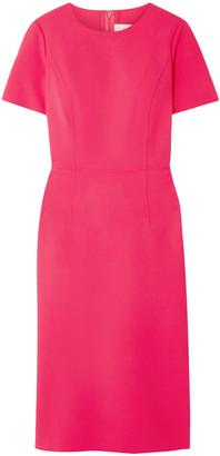 Carolina Herrera Wool-blend Cady Dress
