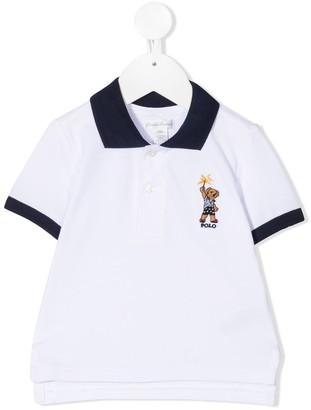 Ralph Lauren Kids Sparkler Bear Polo Shirt