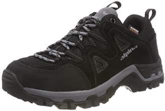 Alpina 680404, Unisex Adults' Low Rise Hiking Boots, Black (Black (1)), (36 EU)