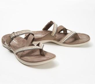 Merrell Asymmetrical Thong Sandals- District Mendi Thong