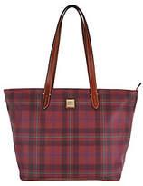 Dooney & Bourke Tiverton Plaid Large ZipShopper Handbag