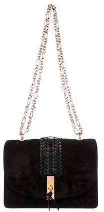 Altuzarra Chain-Link Suede Ghianda Shoulder Bag