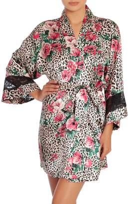 In Bloom Sundance Lace-Trimmed Floral Robe