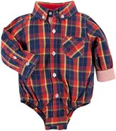 Andy & Evan Plaid Shirtize (Baby) - Red-12-18 Months